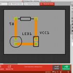 Разводка печатной платы Arduino-проекта во Fritzing