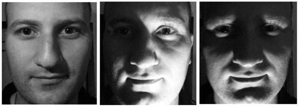 Одно и то же лицо, но с различным затенением