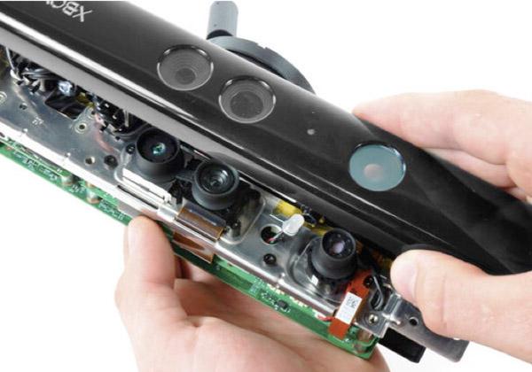 ИК-камера, RGB-камера, светодиод и ИК-проектор