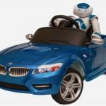 Робот NAO учится управлять собственным автомобилем