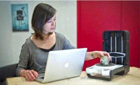 3D-сканирование, используя time-of-flight камеру