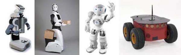 Роботы, поддерживаемые ROS