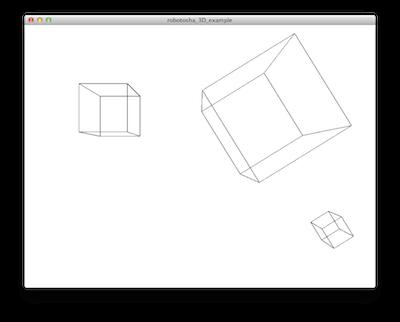 Три куба в различных системах координат