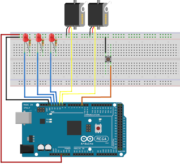 Многозадачность и прерывания на arduino РОБОТОША