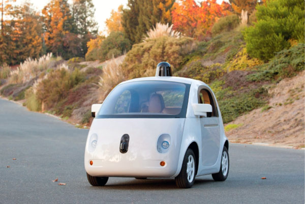 Завершенный прототип беспилотного автомобиля Google