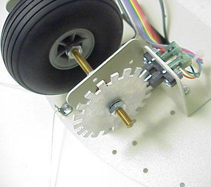 Инкрементный колесный энкодер
