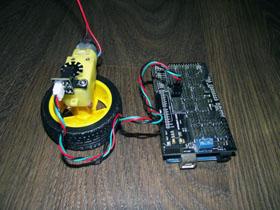 Энкодер DFRobot и Arduino Mega 2560
