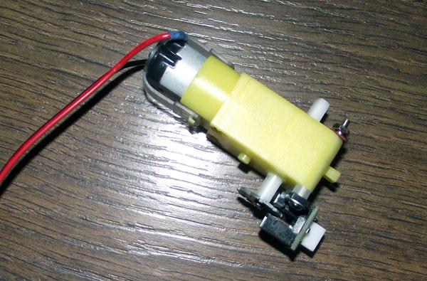 Мотор с энкодером