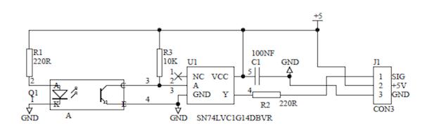 Принципиальная схема энкодера DFRobot