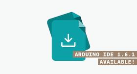 Arduino IDE 1.6.1