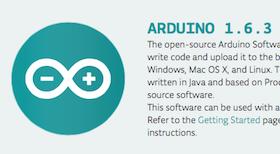 Arduino IDE 1.6.3