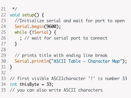 Цветовая схема подсветки синтаксиса в Aruino IDE 1.6.3