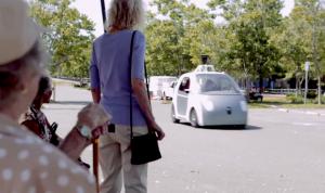 Детектор пешеходов Google