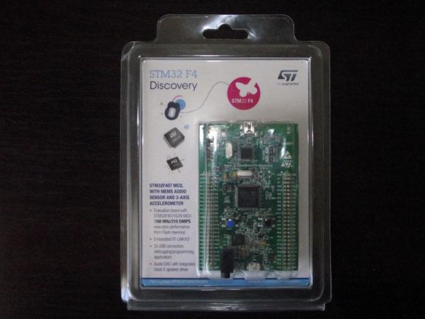 Упаковка STM32F407 Discovery