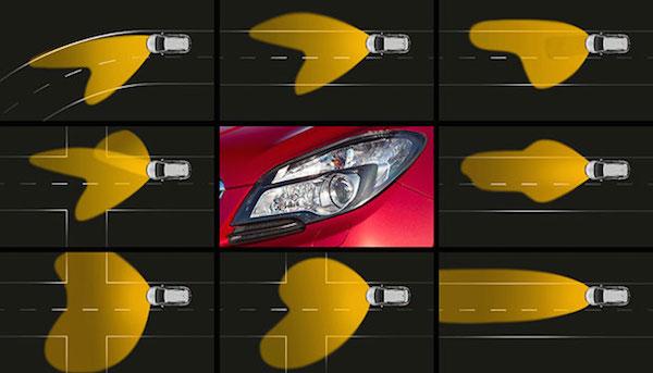 Адаптивная система AFL+ от Opel