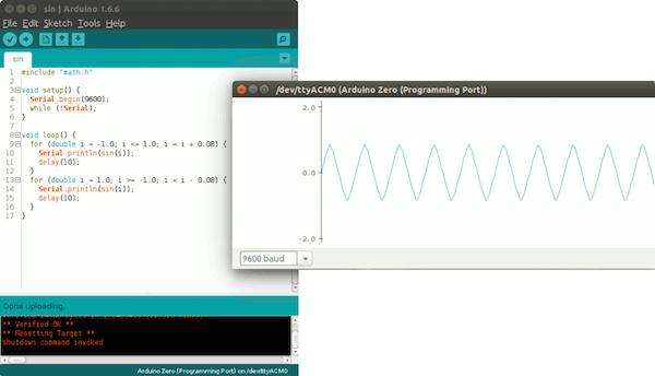 Arduino IDE Serial Plotter