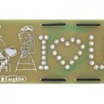Создайте романтическую плату с помощью бесплатного инструмента разработки EasyEDA