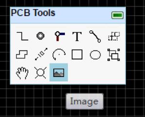 Инструменты для работы с печатной платой в EasyEDA